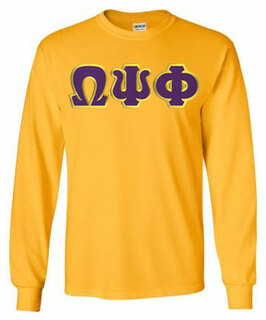 Omega Psi Phi Long Sleeve T-shirts