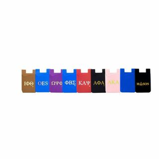 Omega Psi Phi Silicone Card Holders