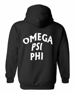 Omega Psi Phi Social Hooded Sweatshirt