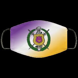 Omega Psi Phi Super Crest Face Masks