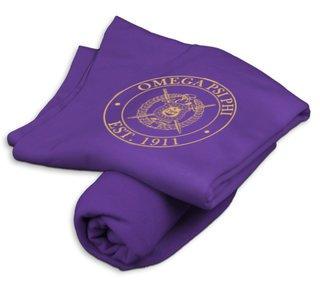 Omega Psi Phi Sweatshirt Blanket