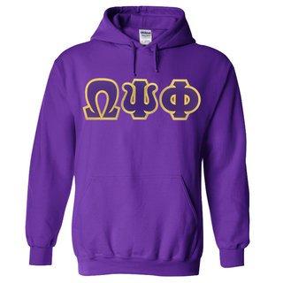 Omega Psi Phi Lettered Sweatshirts