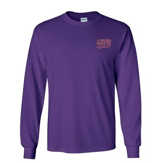 DISCOUNT-Omega Psi Phi T-Shirt, Long, Applique