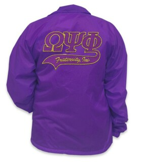 Omega Psi Phi Tail Jacket