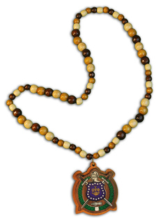 Omega Psi Phi Tiki Necklace