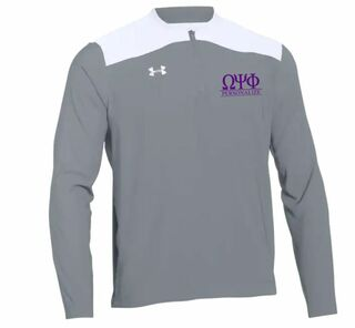 Omega Psi Phi Under Armour�  Men's Triumph Cage Quarter-Zip Pullover