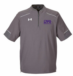 Omega Psi Phi Under Armour�  Men's Ultimate Short Sleeve Fraternity Windshirt