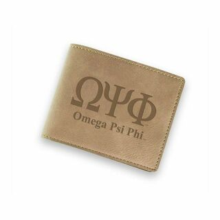 Omega Psi Phi Fraternity Wallet