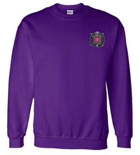 DISCOUNT-Omega Psi Phi World Famous Crest - Shield Crewneck Sweatshirt