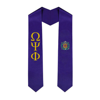 Omega Psi Phi World Famous EZ Stole - Only $29.99!