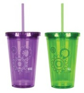 On The Go Sorority Tumbler
