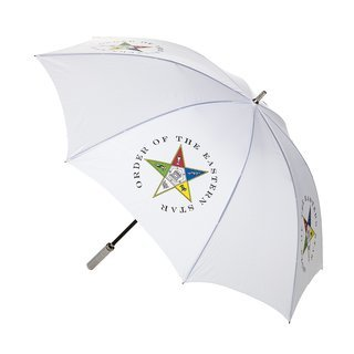 "Order of Eastern Star 30"" Jumbo Umbrella"