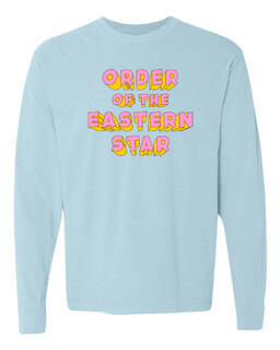 Order Of Eastern Star 3Delightful Long Sleeve T-Shirt - Comfort Colors