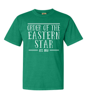 Order Of Eastern Star Comfort Colors Custom Heavyweight T-Shirt