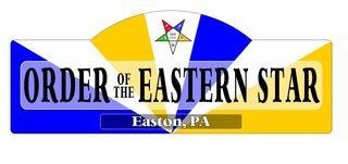 Order Of Eastern Star Display Sign