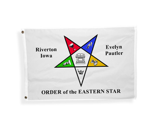 Order Of Eastern Star Flag