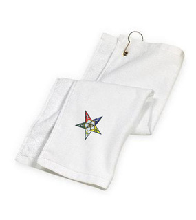 DISCOUNT-Order-of-Eastern-Star Golf Towel