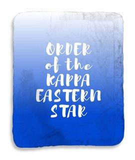 Order Of Eastern Star Gradient Sherpa Lap Blanket
