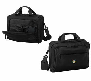 DISCOUNT-Order-of-Eastern-Star Crest - Shield Briefcase Attache