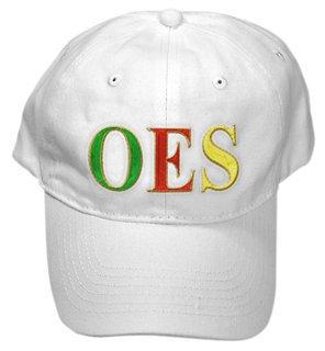Order Of Eastern Star Letter Hat