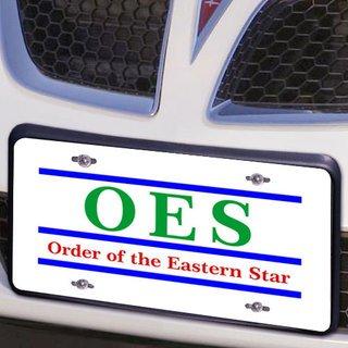 Order Of Eastern Star Lettered Lines License Cover