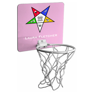 Order Of Eastern Star Mini Basektball Hoop