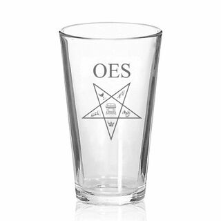 Order Of Eastern Star Mixing Glass