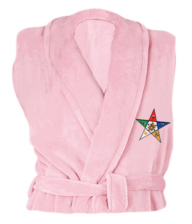 DISCOUNT-Order Of Eastern Star  Patch  Bathrobe