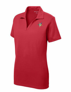 DISCOUNT-Order-of-Eastern-Star Emblem Polo