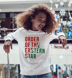 Order Of Eastern Star Ripped Favorite Crewneck