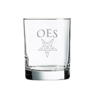 Order Of Eastern Star Rocks Glass