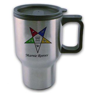 Order Of Eastern Star Travel Mug