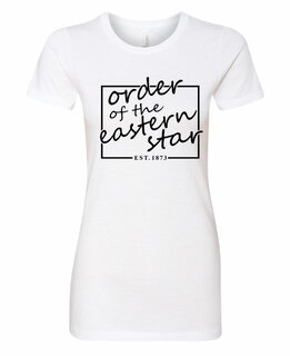 Order of Eastern Star Triblend Short Sleeve Box T-Shirt