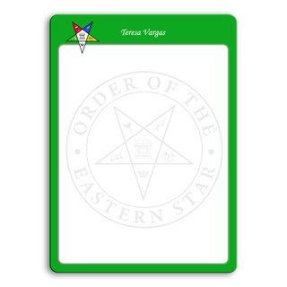 Order Of Eastern Star Wipe Erase