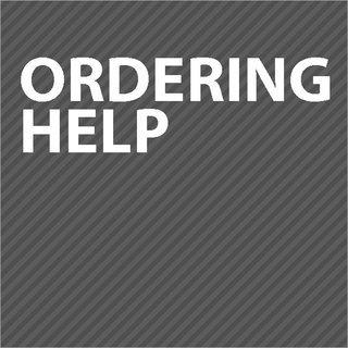 Ordering Help