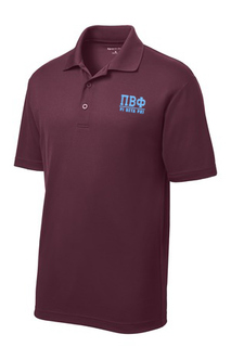 Personalized Greek Letter Polo