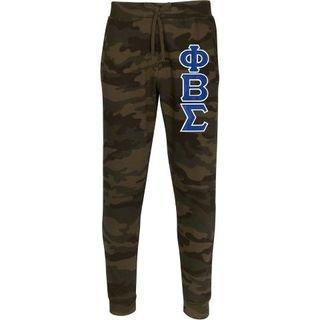 Phi Beta Sigma 2 Day Ship Twill Jogger Pants