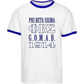 Phi Beta Sigma 2 Day Ship G.O.M.A.B. Ringer Tee