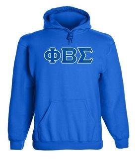 Phi Beta Sigma 2 Day Ship Twill Hooded Sweatshirt