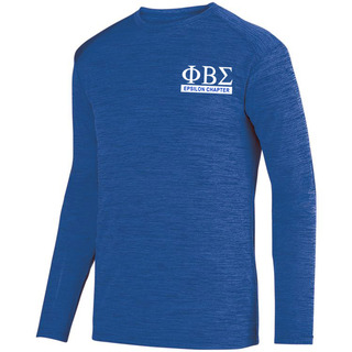 Phi Beta Sigma- $20 World Famous Dry Fit Tonal Long Sleeve Tee