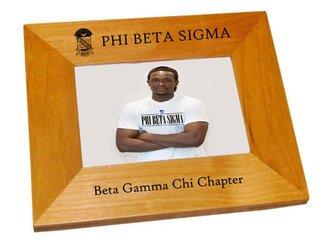 Phi Beta Sigma Crest Picture Frame