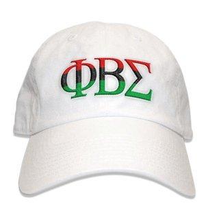 Phi Beta Sigma African American Flag Greek Letter Hat