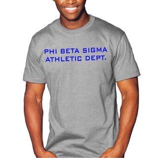 Phi Beta Sigma Ath. Dept.Tee