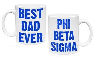 Phi Beta Sigma Best Dad Ever Coffee Mug