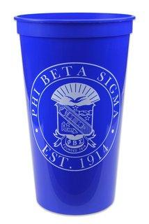Phi Beta Sigma Big Plastic Stadium Cup