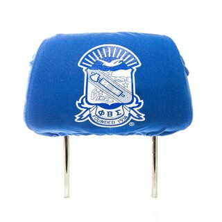 Phi Beta Sigma Black Car Seat Headrest Cover