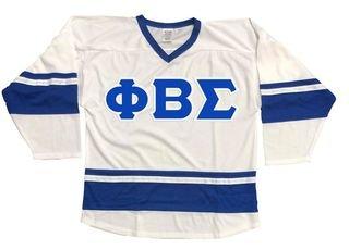 DISCOUNT-Phi Beta Sigma Breakaway Lettered Hockey Jersey