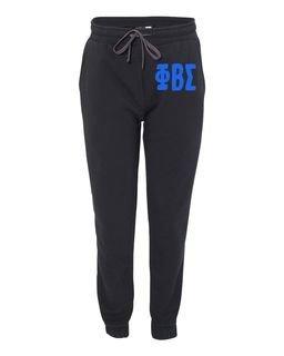 Phi Beta Sigma Big Letter Sweatpants