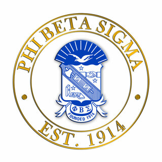 Phi Beta Sigma Circle Crest - Shield Decal