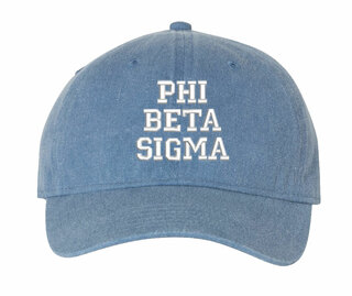 Phi Beta Sigma Comfort Colors Pigment Dyed Baseball Cap